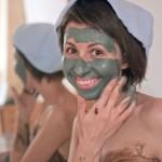 Спирулиновая маска для лица