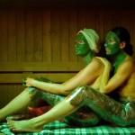 Шоколадное обертывание, маска для лица, шеи и области декольте