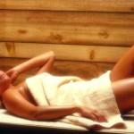 Очищение кожи в сауне