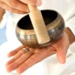 Медитация с тибетской поющей чашей