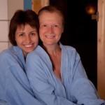 Отдых на спа процедурах в сауне
